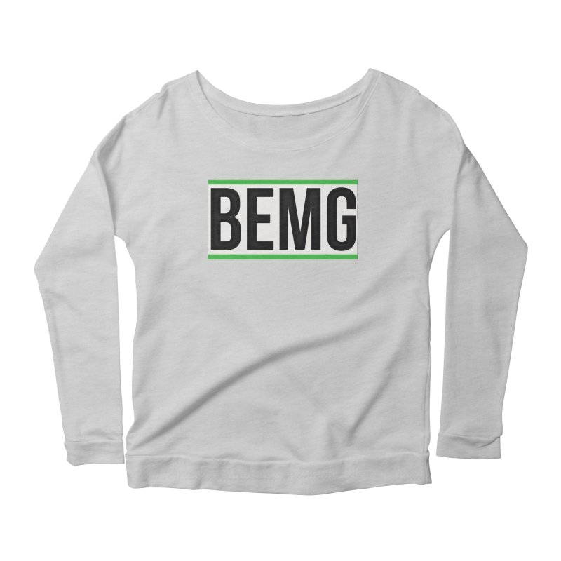 BEMG Basics Women's Scoop Neck Longsleeve T-Shirt by The B.E.M.G. COLLECTION