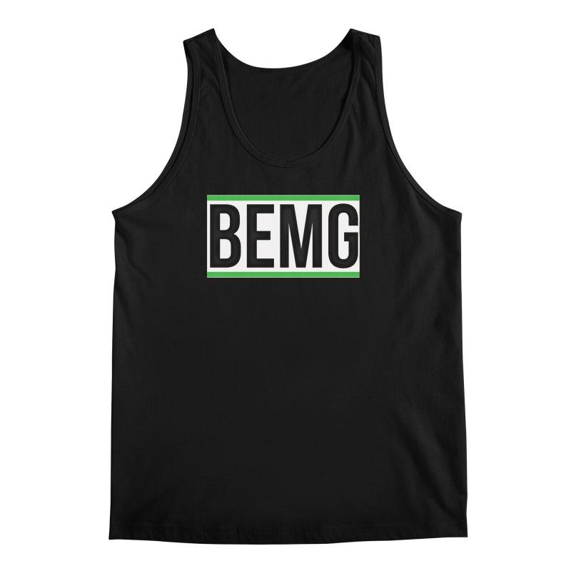 BEMG Basics Men's Regular Tank by The B.E.M.G. COLLECTION