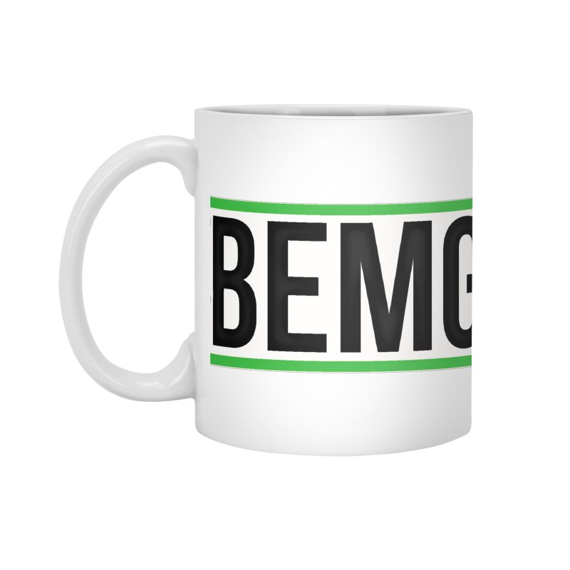 BEMG Basics Accessories Standard Mug by The B.E.M.G. COLLECTION