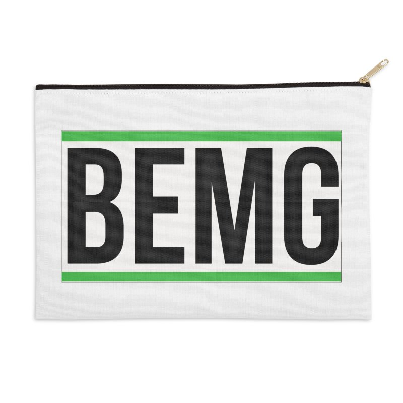 BEMG Basics Accessories Zip Pouch by The B.E.M.G. COLLECTION