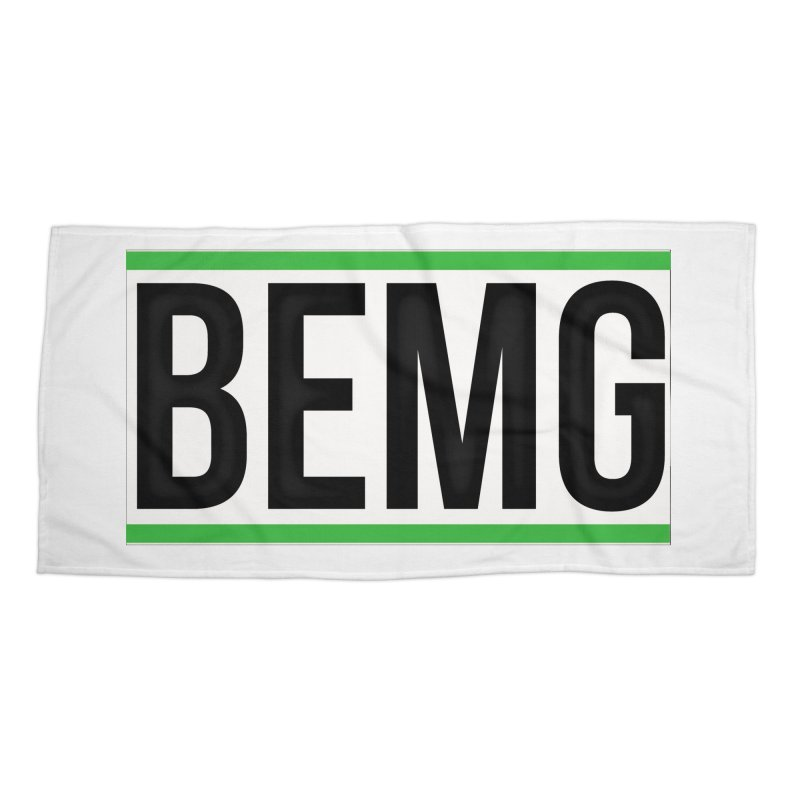 BEMG Basics Accessories Beach Towel by The B.E.M.G. COLLECTION