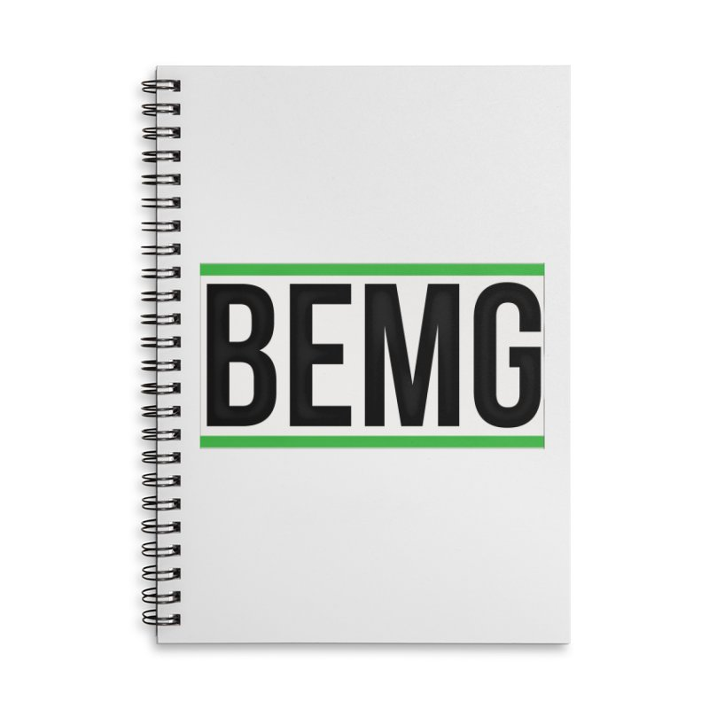 BEMG Basics Accessories Lined Spiral Notebook by The B.E.M.G. COLLECTION