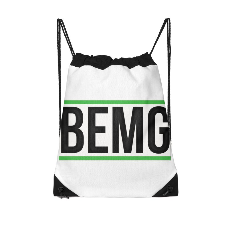 BEMG Basics Accessories Drawstring Bag Bag by The B.E.M.G. COLLECTION