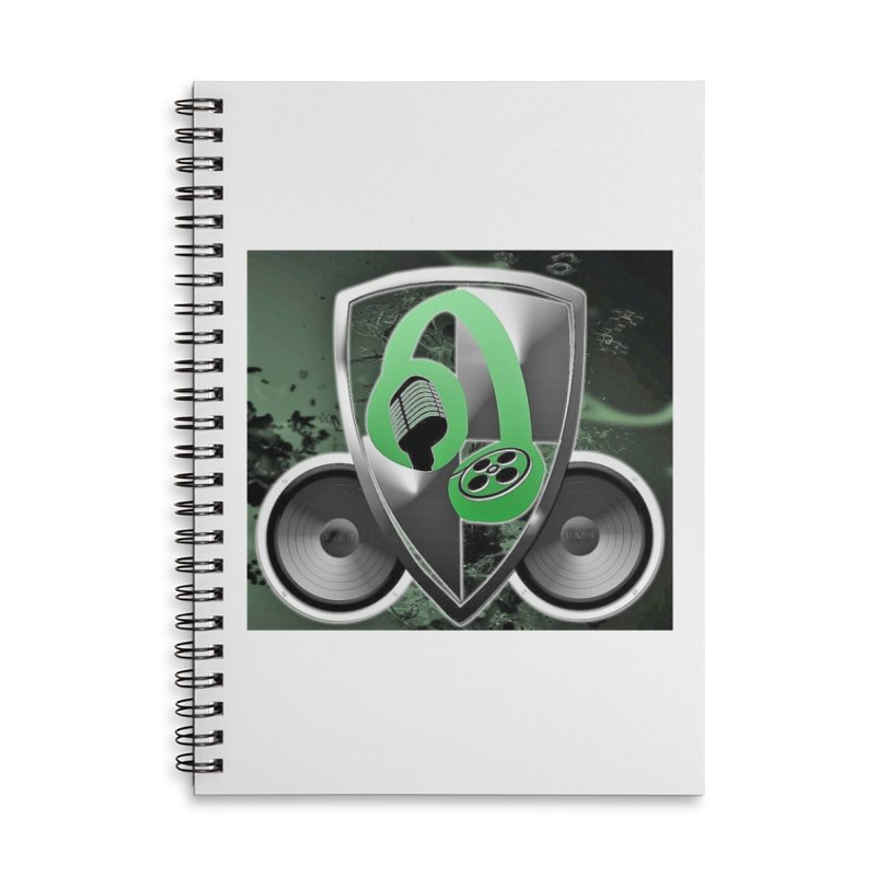 B.E.M.G. Next Generation Accessories Lined Spiral Notebook by The B.E.M.G. COLLECTION