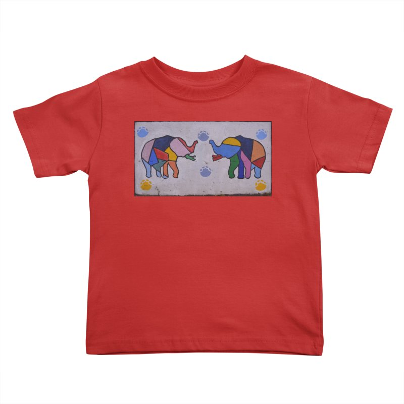 Peace Kids Toddler T-Shirt by The B.E.M.G. COLLECTION