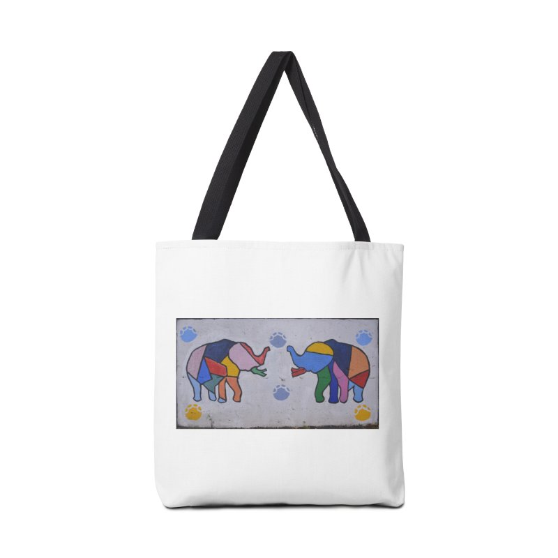 Peace Accessories Tote Bag Bag by The B.E.M.G. COLLECTION