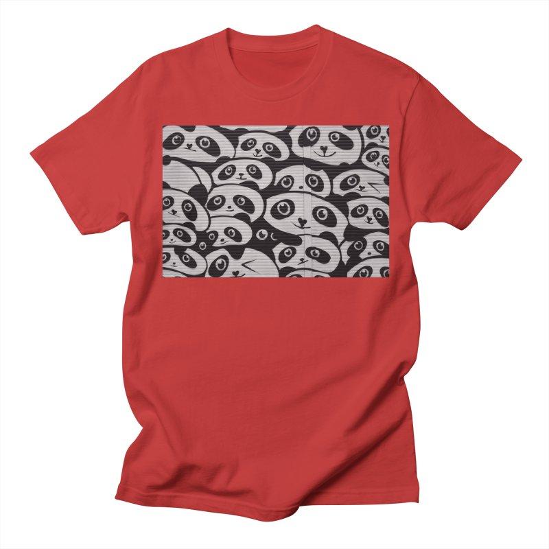 Panda Women's Regular Unisex T-Shirt by The B.E.M.G. COLLECTION