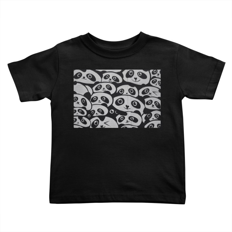 Panda Kids Toddler T-Shirt by The B.E.M.G. COLLECTION