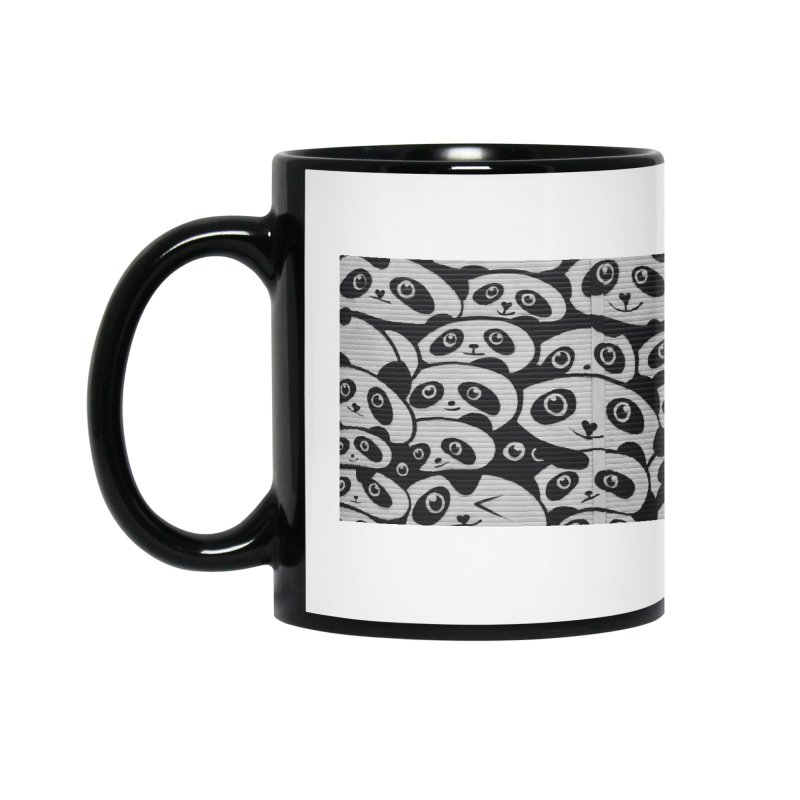 Panda Accessories Mug by The B.E.M.G. COLLECTION