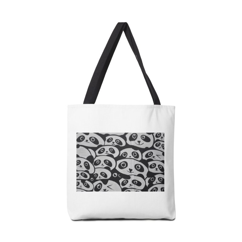 Panda Accessories Tote Bag Bag by The B.E.M.G. COLLECTION