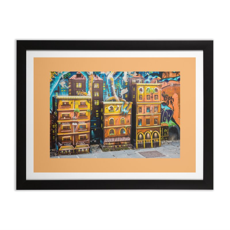 Urban Jungle Home Framed Fine Art Print by The B.E.M.G. COLLECTION