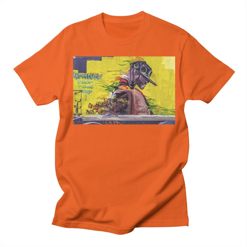 Man on Fire Men's Regular T-Shirt by The B.E.M.G. COLLECTION
