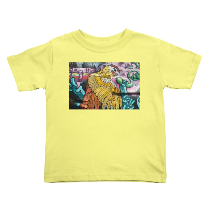 Parrot Kids Toddler T-Shirt by The B.E.M.G. COLLECTION