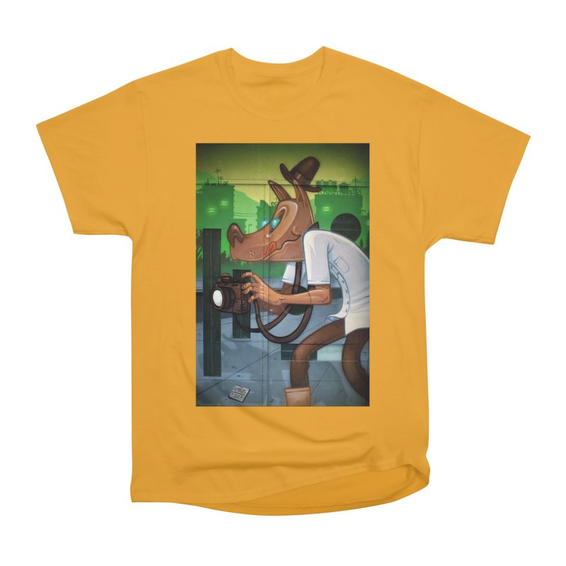 Sly Fox Men's Heavyweight T-Shirt by The B.E.M.G. COLLECTION