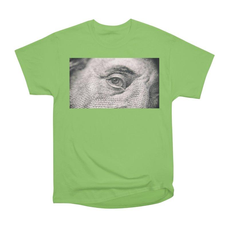 Benjamin Men's Heavyweight T-Shirt by The B.E.M.G. COLLECTION