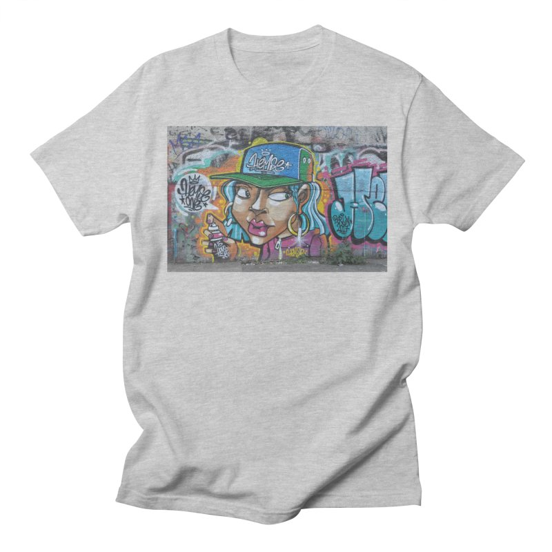 'Round the Way Girl Women's Regular Unisex T-Shirt by The B.E.M.G. COLLECTION