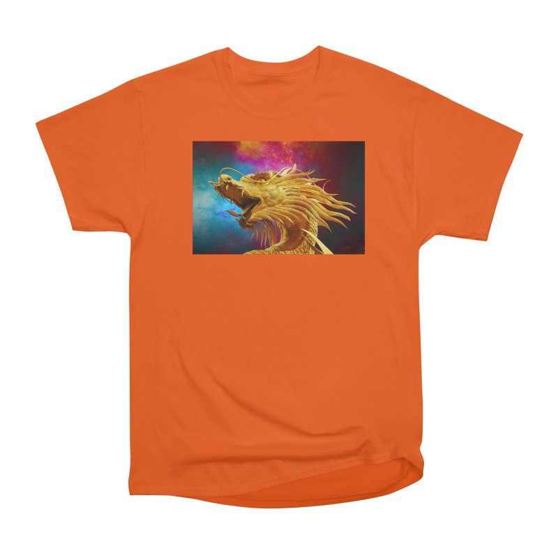 Golden Dragon Men's T-Shirt by The B.E.M.G. COLLECTION