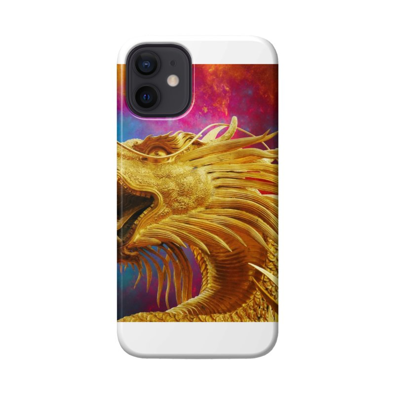 Golden Dragon Accessories Phone Case by The B.E.M.G. COLLECTION