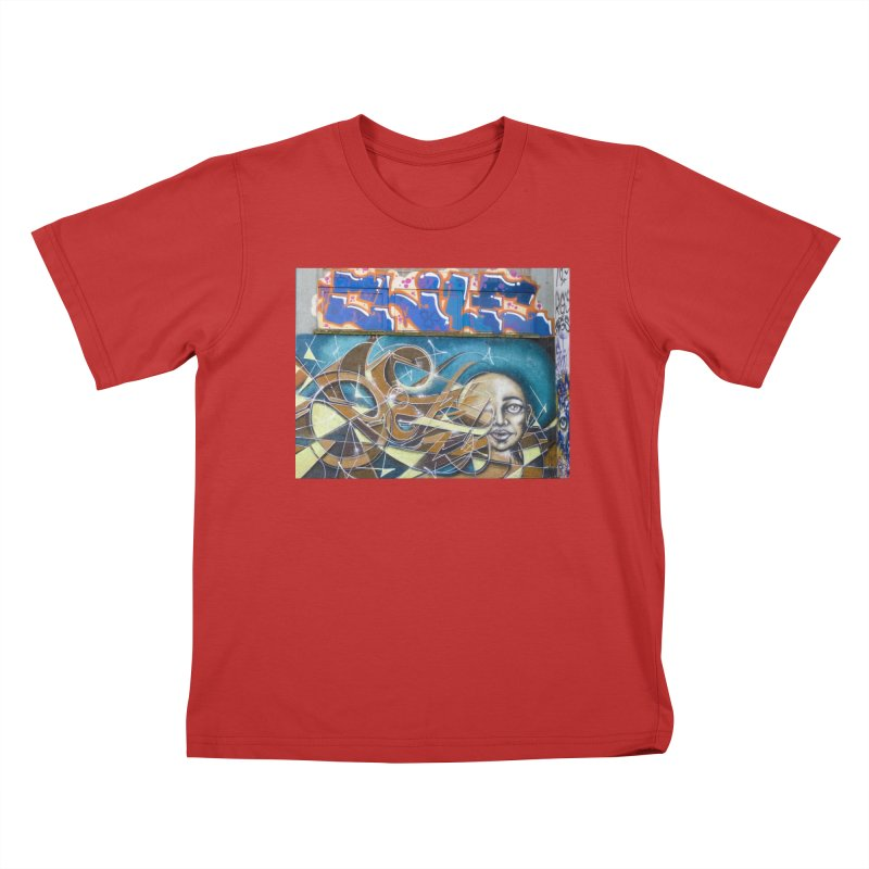 Abstract Thought Kids T-Shirt by The B.E.M.G. COLLECTION