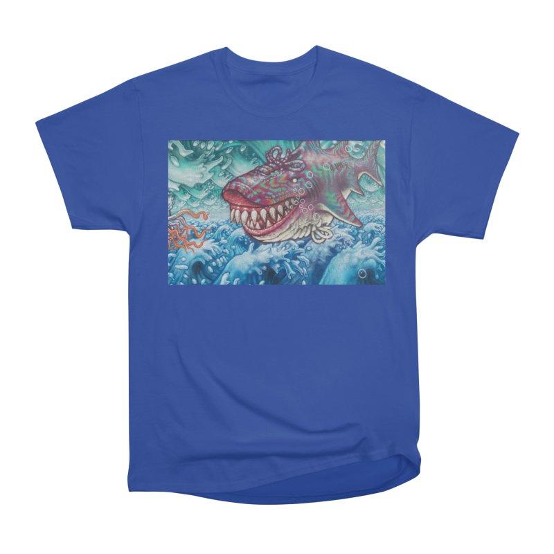 Shark Men's Heavyweight T-Shirt by The B.E.M.G. COLLECTION