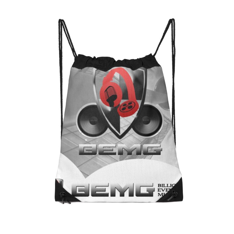 Money Bag in Drawstring Bag by The B.E.M.G. COLLECTION