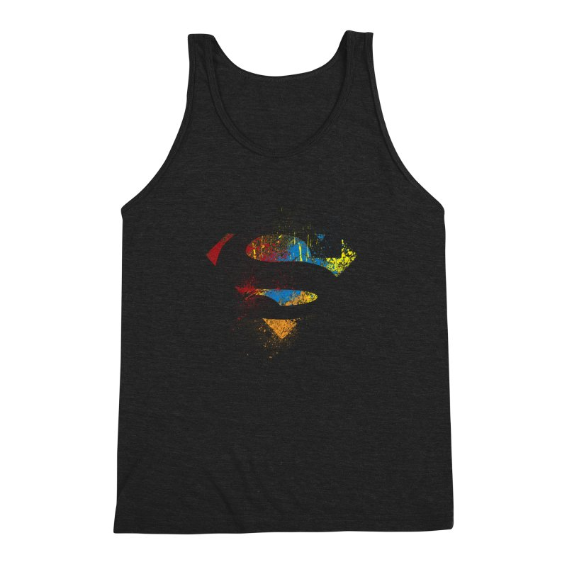 superman brushpaint symbol   by ben35dan's Artist Shop