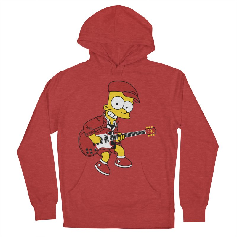 bart ac/dc simpson Men's Pullover Hoody by ben35dan's Artist Shop