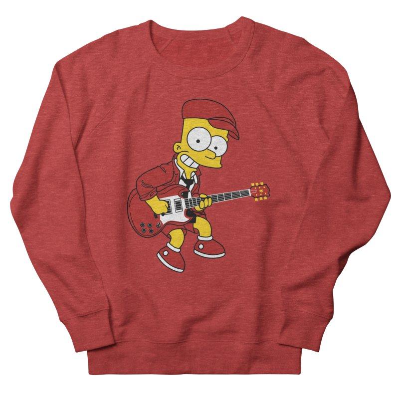 bart ac/dc simpson Men's Sweatshirt by ben35dan's Artist Shop