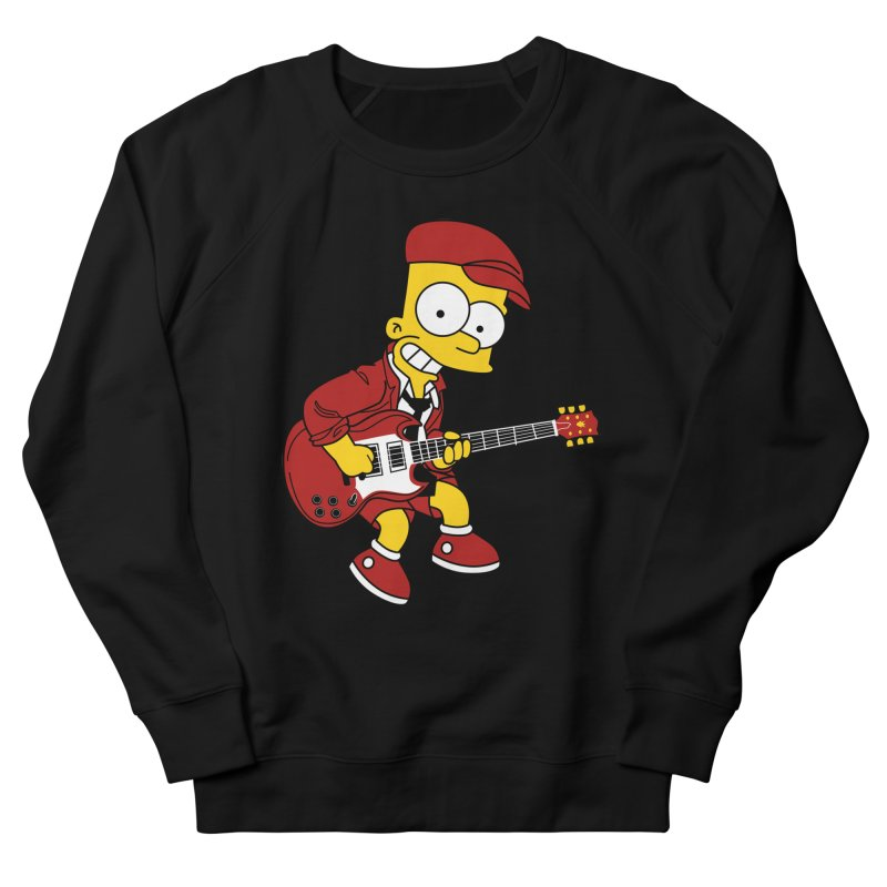 bart ac/dc simpson Men's Sweatshirt by ben35dan's Artist Shop