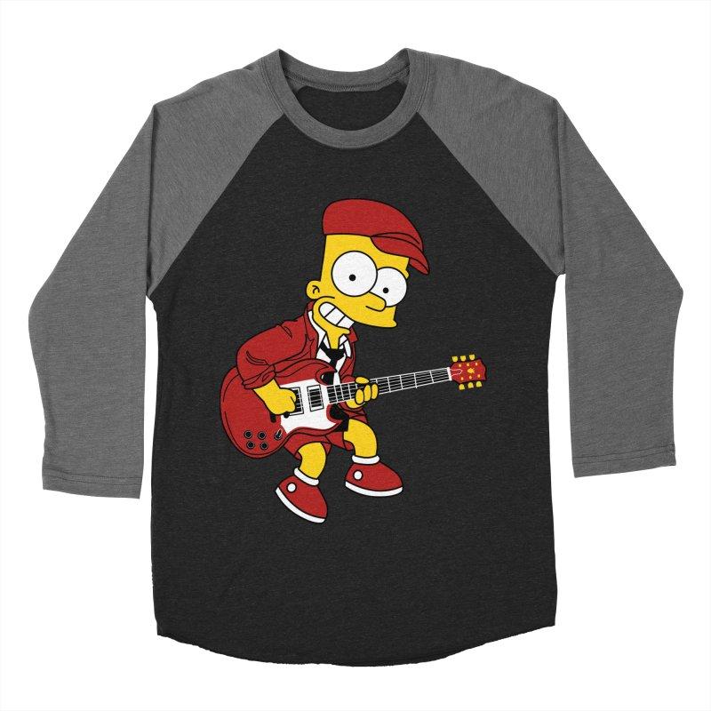 bart ac/dc simpson Men's Baseball Triblend T-Shirt by ben35dan's Artist Shop
