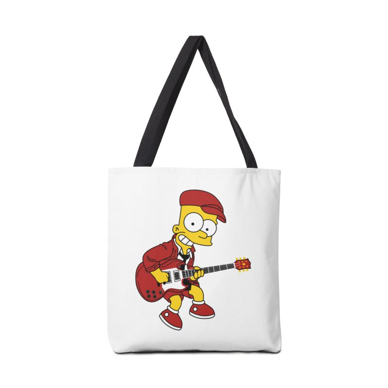 bart ac/dc simpson Accessories Bag by ben35dan's Artist Shop