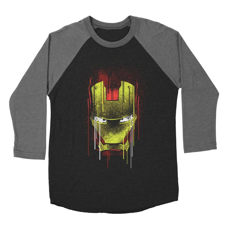 ironman Men's Baseball Triblend T-Shirt by ben35dan's Artist Shop