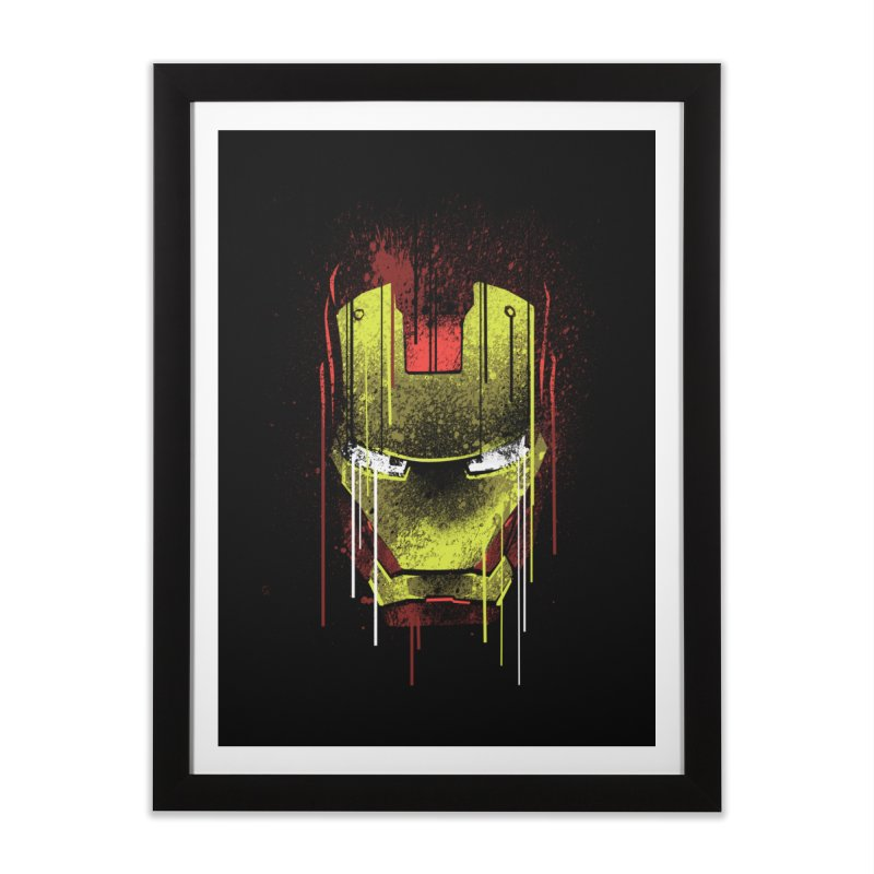 ironman Home Framed Fine Art Print by ben35dan's Artist Shop