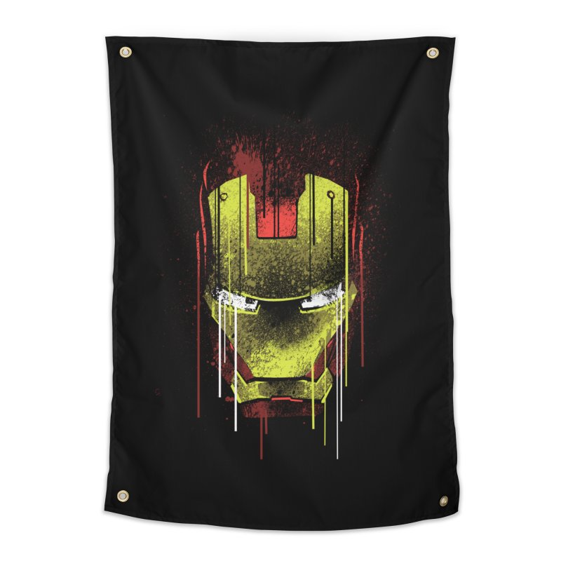 ironman Home Tapestry by ben35dan's Artist Shop