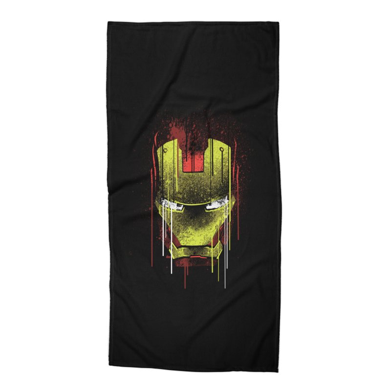 ironman Accessories Beach Towel by ben35dan's Artist Shop