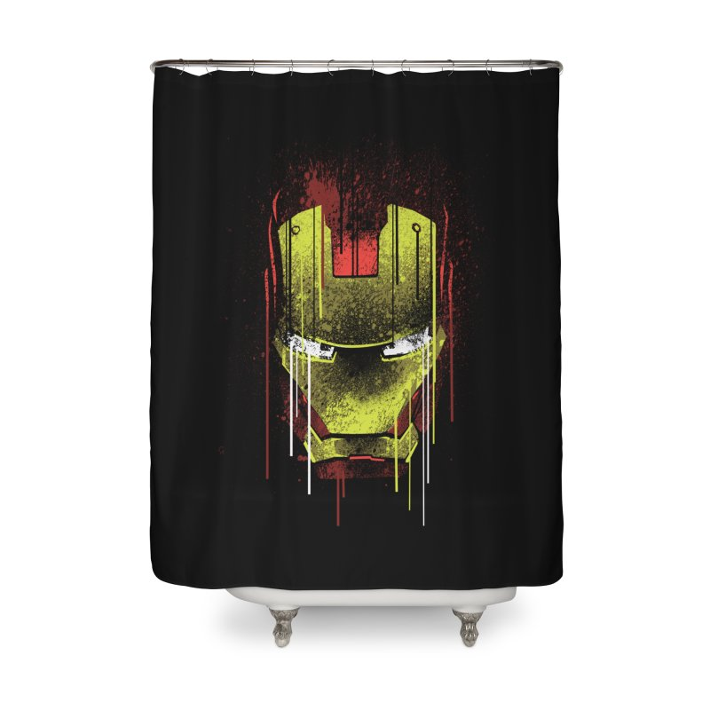 ironman Home Shower Curtain by ben35dan's Artist Shop