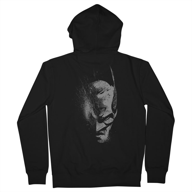 batman head Men's Zip-Up Hoody by ben35dan's Artist Shop
