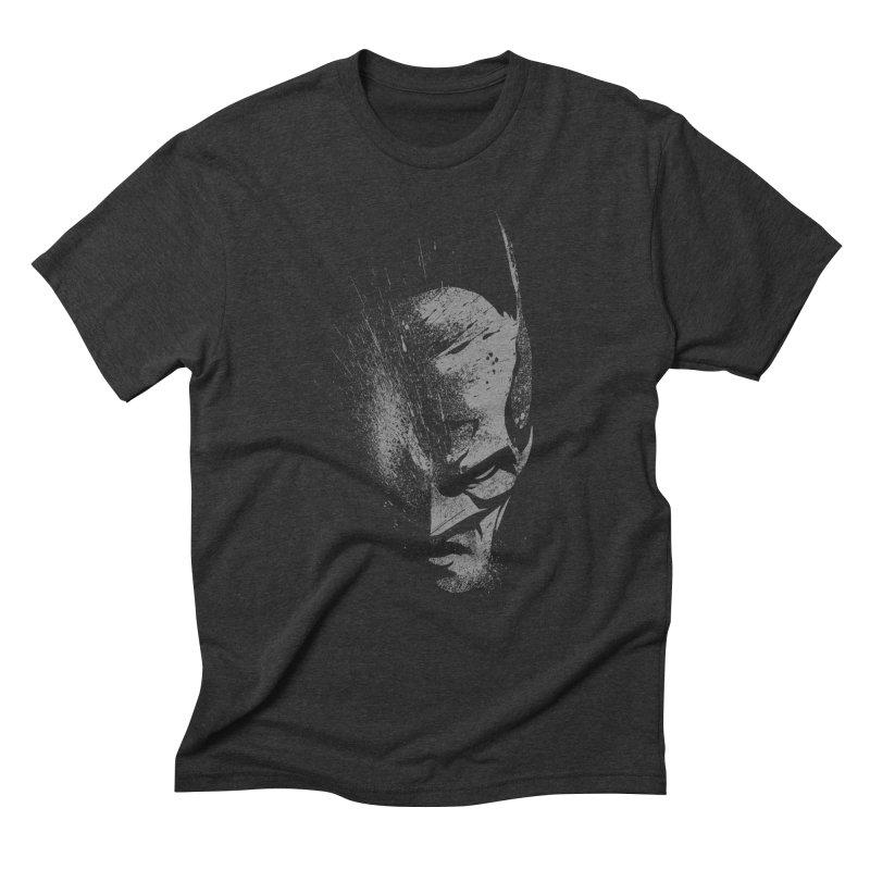 batman head Men's Triblend T-Shirt by ben35dan's Artist Shop