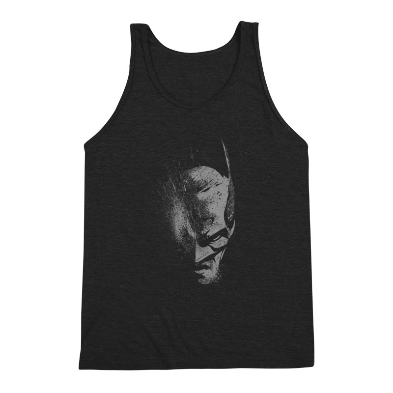 batman head Men's Triblend Tank by ben35dan's Artist Shop