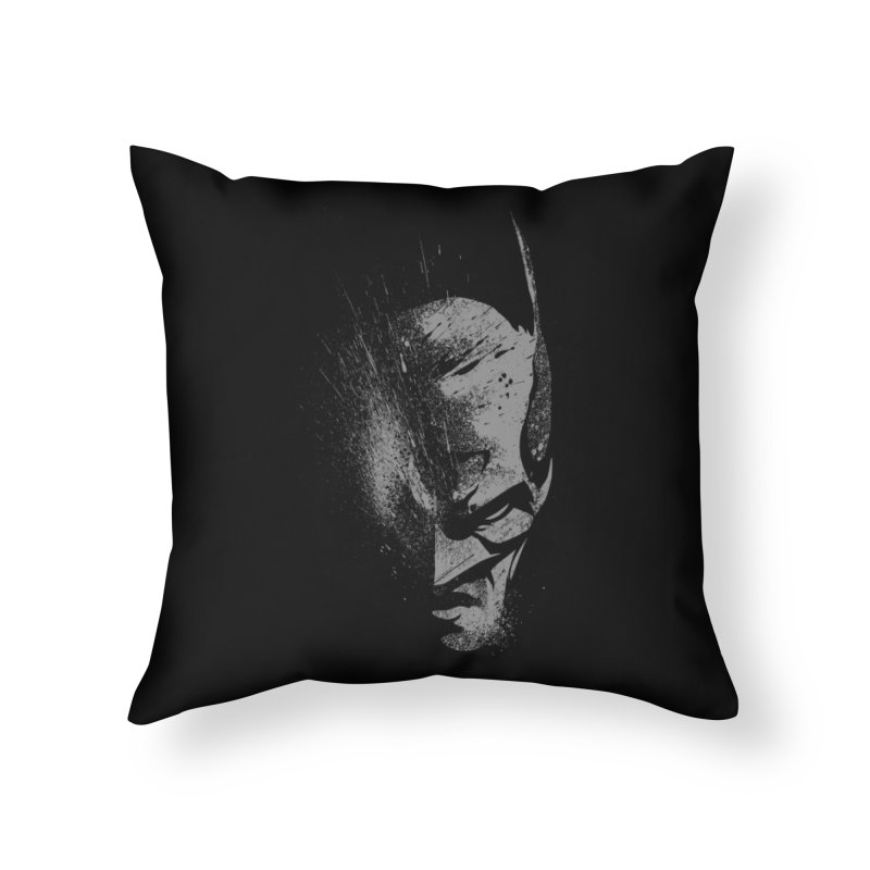 batman head Home Throw Pillow by ben35dan's Artist Shop