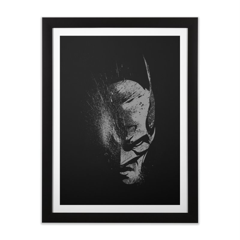 batman head Home Framed Fine Art Print by ben35dan's Artist Shop