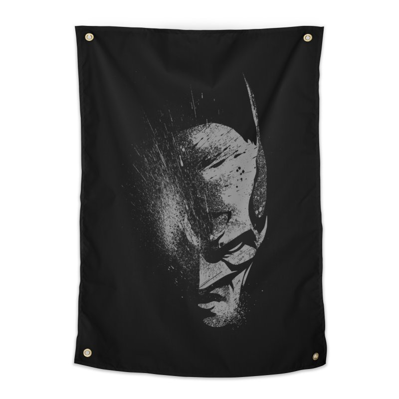 batman head Home Tapestry by ben35dan's Artist Shop