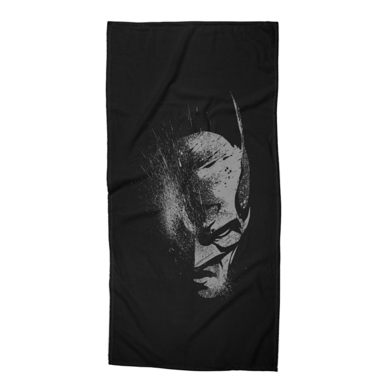 batman head Accessories Beach Towel by ben35dan's Artist Shop