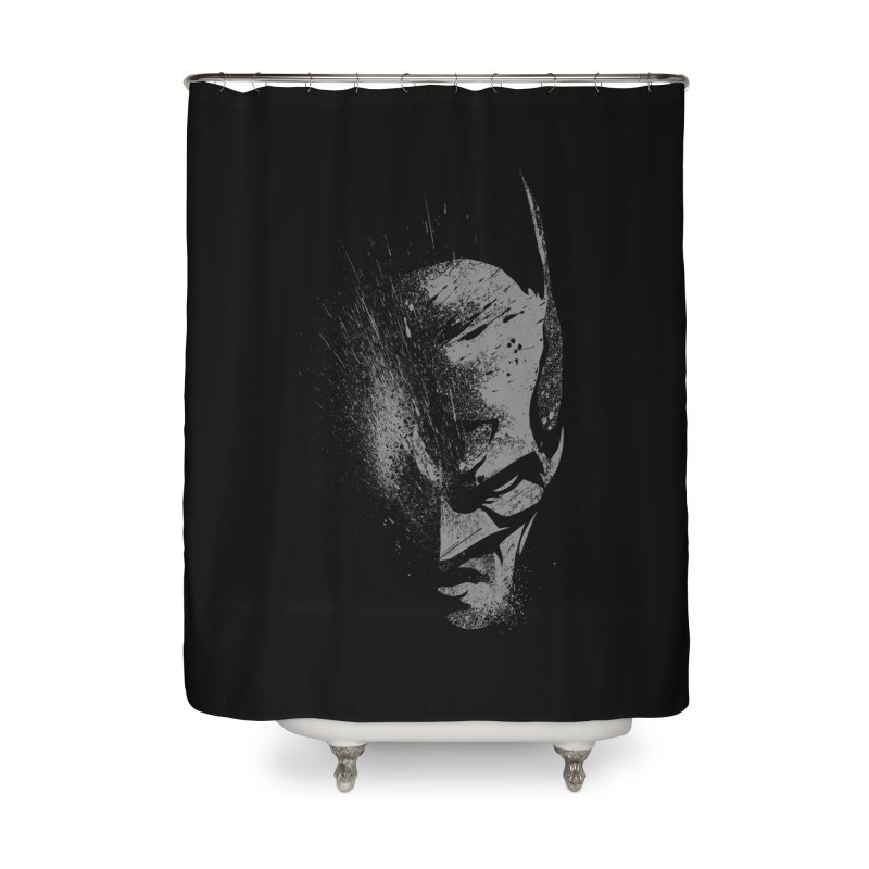 batman head Home Shower Curtain by ben35dan's Artist Shop