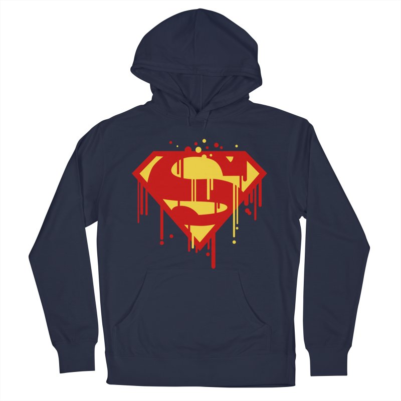 superman symbol Men's Pullover Hoody by ben35dan's Artist Shop