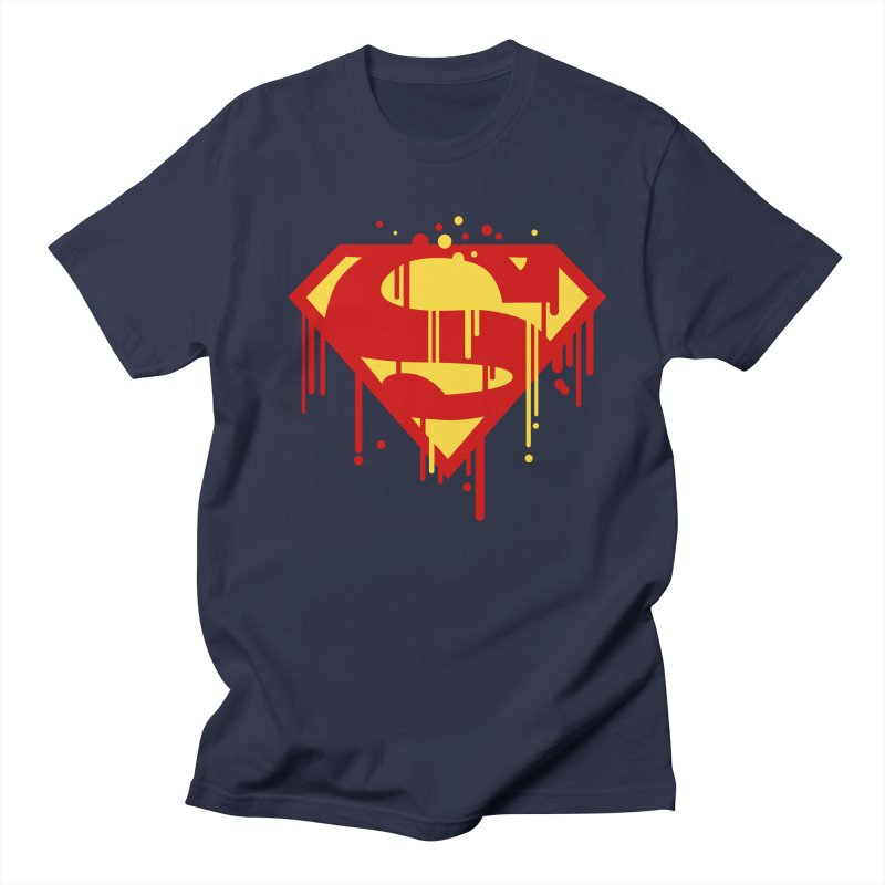 superman symbol Men's T-Shirt by ben35dan's Artist Shop