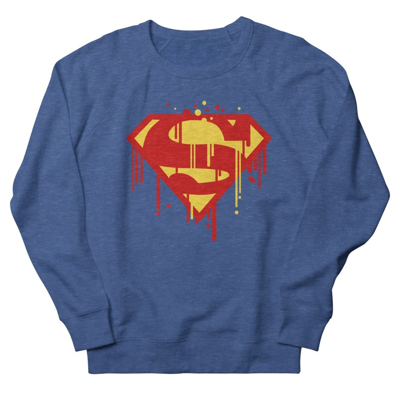 superman symbol Men's Sweatshirt by ben35dan's Artist Shop