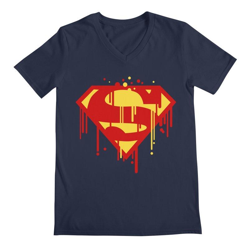 superman symbol Men's V-Neck by ben35dan's Artist Shop