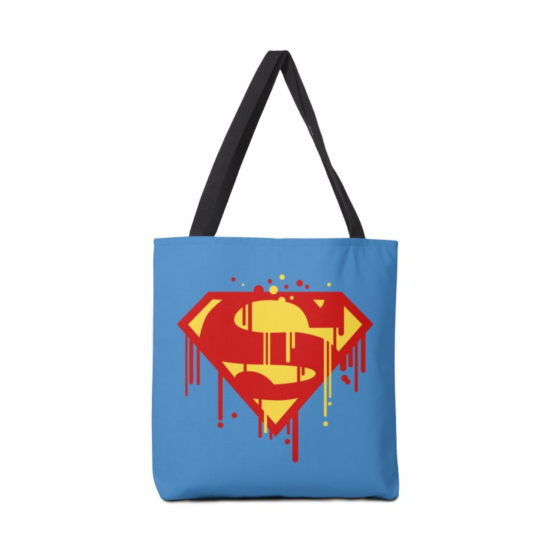 superman symbol Accessories Bag by ben35dan's Artist Shop
