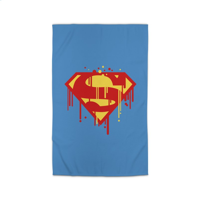 superman symbol Home Rug by ben35dan's Artist Shop
